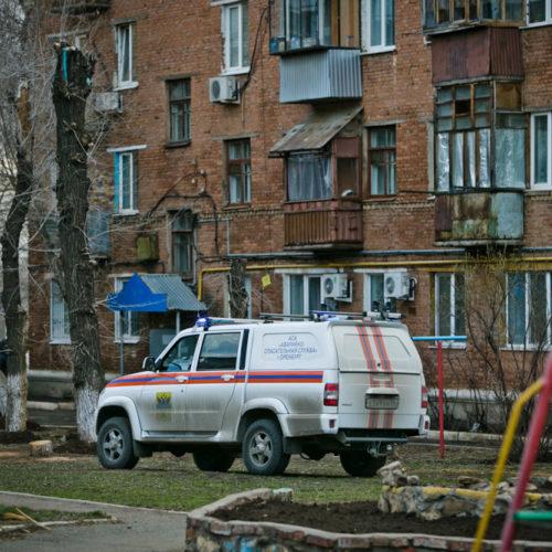 Жителей карантинного дома в Оренбурге обеспечивают продуктами