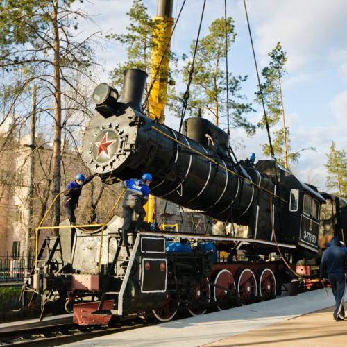 В парке «Салют, Победа!» появится новая экспозиция с железнодорожным вокзалом