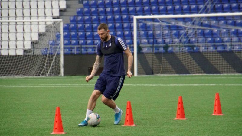 ФК «Оренбург» показал кадры с первых тренировок в условиях самоизоляции
