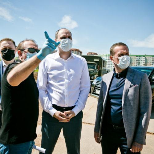 Денис Паслер призвал строить соцобъекты Оренбурга из материалов местных фирм