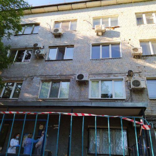 Очаг заболевания COVID-19 обнаружили в доме на проезде Коммунаров в Оренбурге
