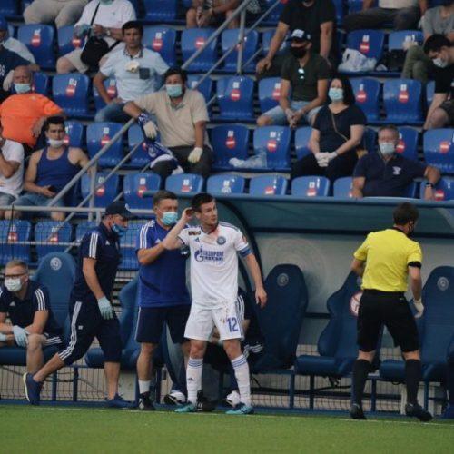 На матче «Оренбург» — ЦСКА обеспечили меры профилактики COVID-19