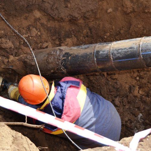 Три прорыва на водозаборе в Сорочинске ликвидировали