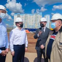 Министр строительства России Владимир Якушев оценил оренбургские стройки