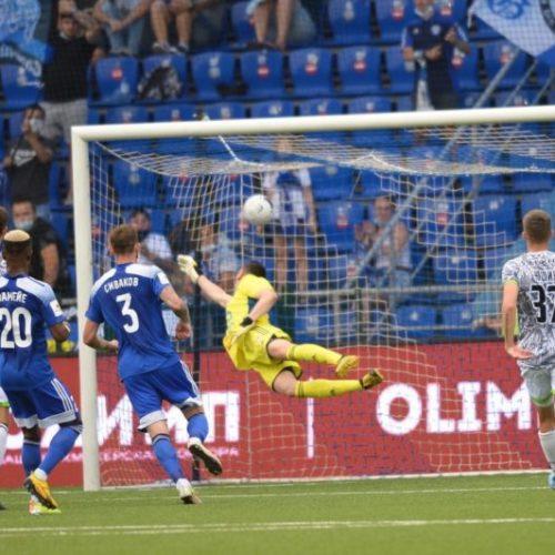 «Оренбург» победил «Нефтехимик» благодаря красивому голу Кулишева