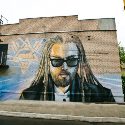 Стерлитамакский художник нарисует портрет Децла на стене в Оренбурге