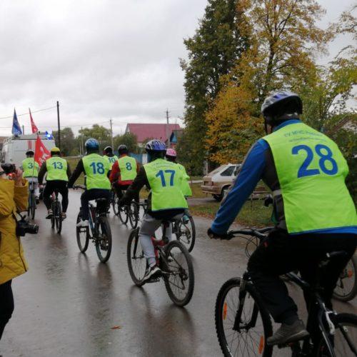 Оренбургские пожарные приняли участие в велопробеге в честь  75-летия Победы