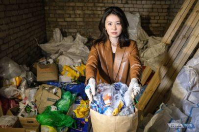 Добровольцы помогают оренбуржцам приобщиться к раздельному сбору мусора