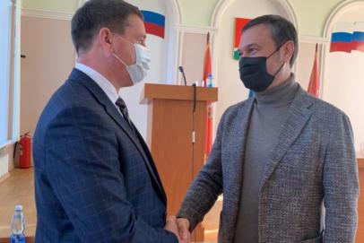 Главой Первомайского района избрали Сергея Дерюгина