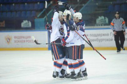 Гол Савельева принес оренбургским «Сарматам» победу над «Кузнецкими Медведями»