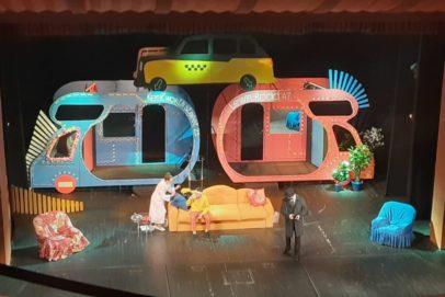 Орчанам представили премьеру спектакля «Слишком женатый таксист»