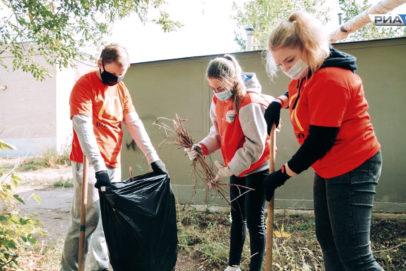 Ежедневно в Оренбуржье работают более 50 тысяч добровольцев