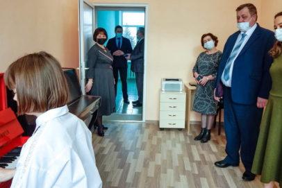 В Грачевском районе после ремонта открылась детская школа искусств