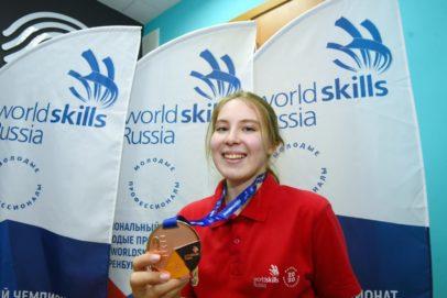 Победителей и призеров национальных чемпионатов WorldSkills наградили в Оренбурге
