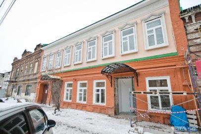В Оренбурге полностью восстановили здание музея семьи Юрия Гагарина