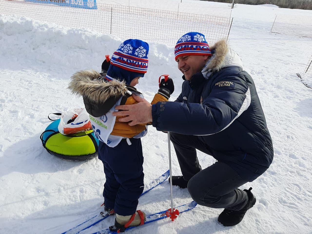 Оренбург. «Лыжня России-2021». Фотообзор