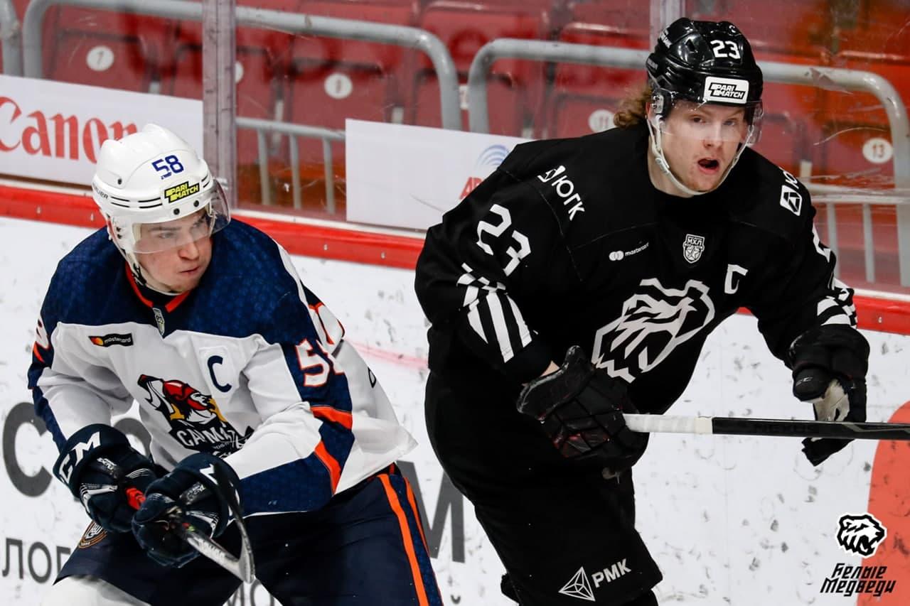 Оренбургские «Сарматы» поделили очки с челябинскими «Белыми Медведями»