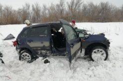 В Переволоцком районе в результате лобового столкновения погиб водитель