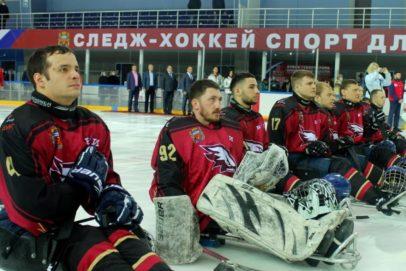 В Оренбурге стартовал второй круг чемпионата РФ и Кубок губернатора по следж-хоккею