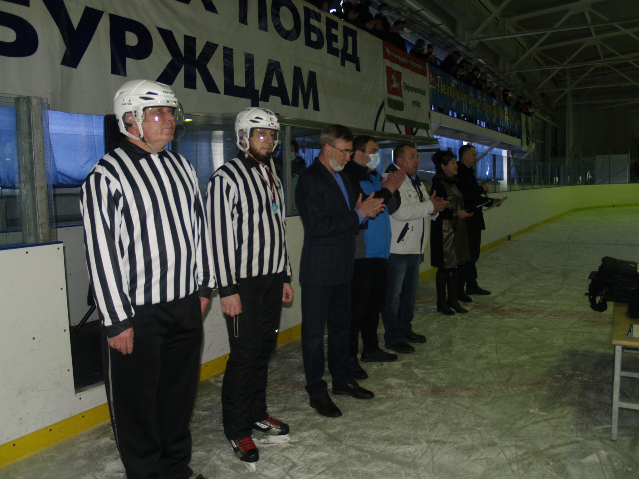 Первомайские хоккеисты посвятили свои голы полету Юрия Гагарина