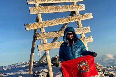 Замминистра экономики Оренбуржья Наталья Струнцова покорила гору Килиманджаро