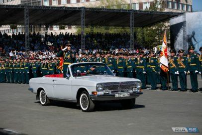 В Оренбурге 600 ветеранов и тружеников тыла побывали на параде Победы