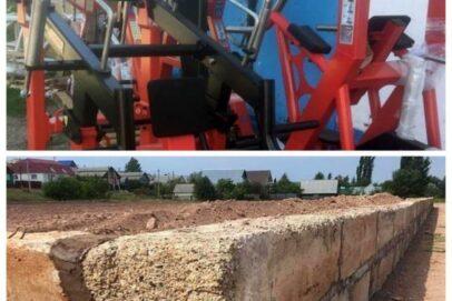 В Абдулино строят новый спортивный объект
