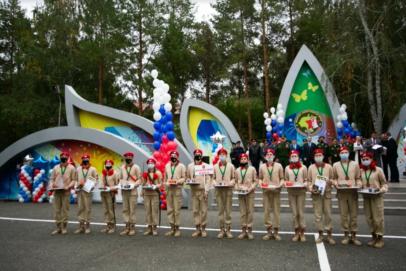 Оренбуржцы взяли «бронзу» на окружной военно-спортивной игре «Зарница Поволжья»