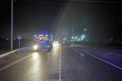 В ДТП с участием трех автомобилей на оренбургской трассе пострадала женщина-водитель