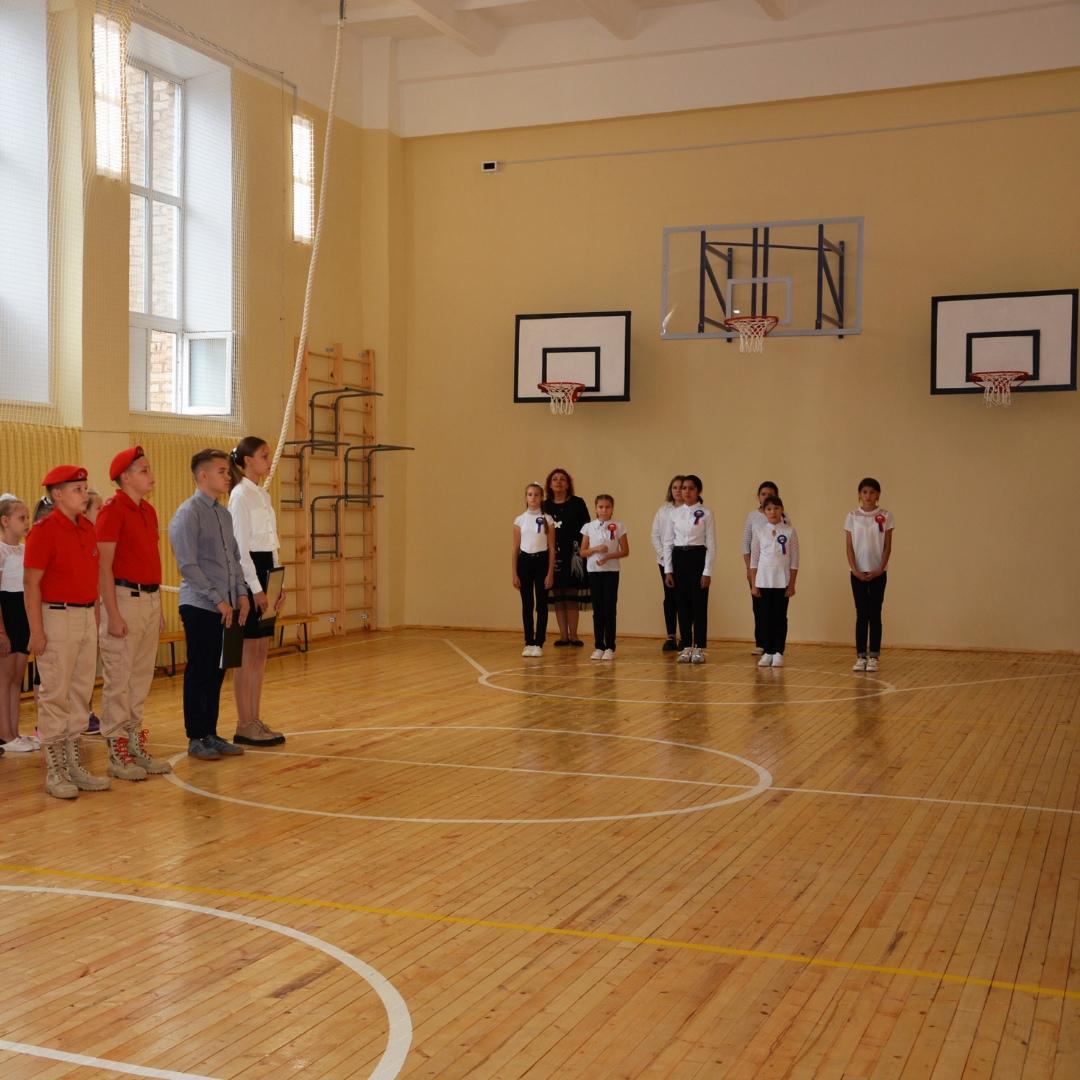 В сельской школе Тоцкого района провели капремонт спортзала