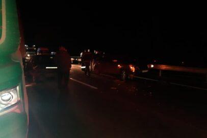 В Оренбурге при столкновении трех автомобилей погиб водитель легковушки